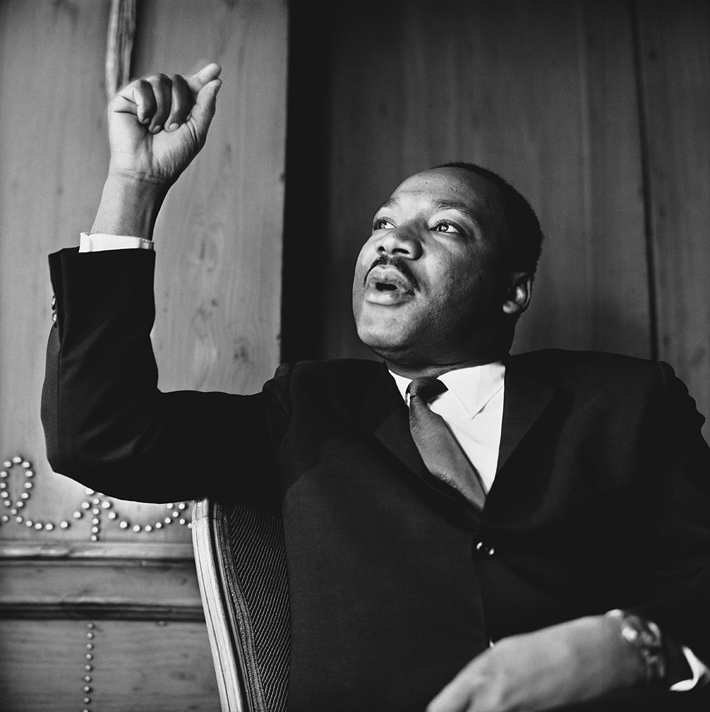 Martin Luther King In London fine art photography