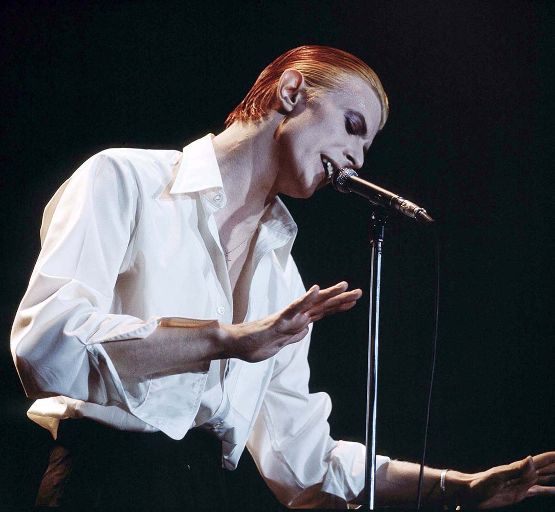 David Bowie On Stage At Wembley fine art photography