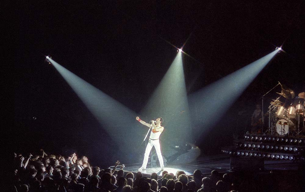 Queen At Wembley Arena fine art photography