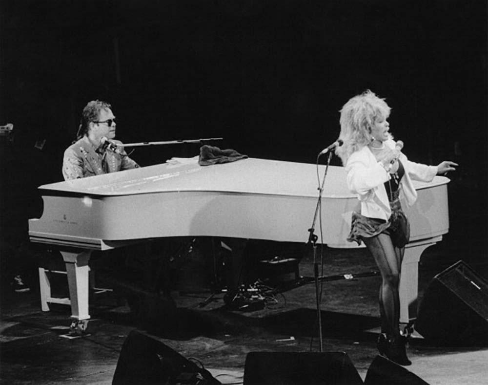 Elton John and Tina Turner fine art photography