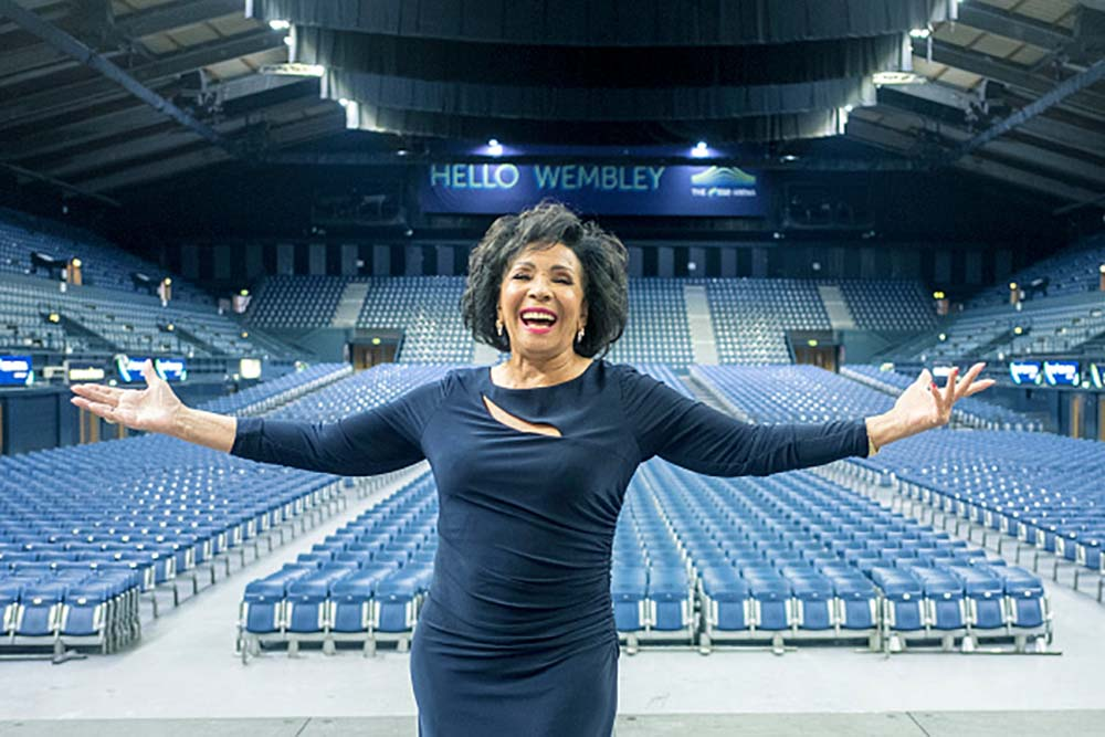 Shirley Bassey Plaque Unveiling At The SSE Arena Wembley fine art photography