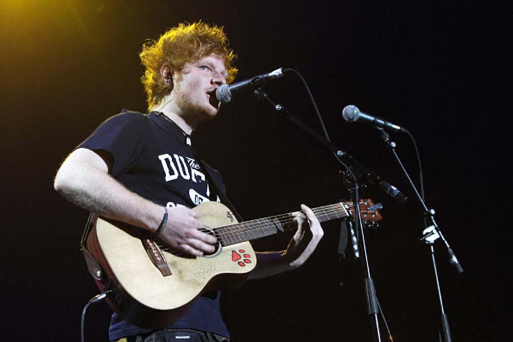 Ed Sheeran fine art photography