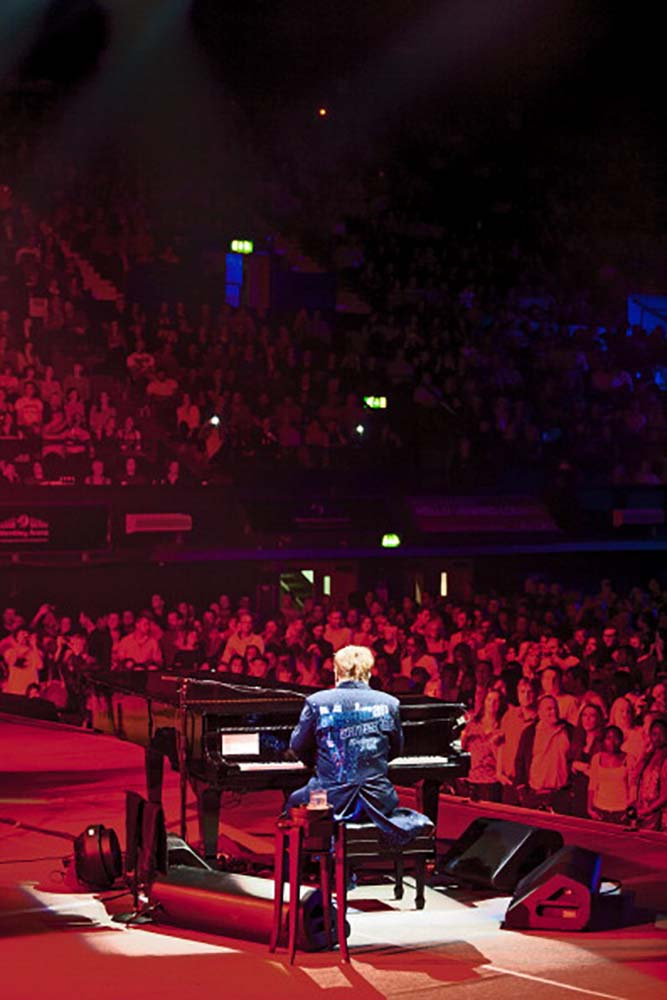 Elton John for Peace One Day Celebration fine art photography