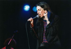 Patti Smith Performs at Wembley Arena in 1979