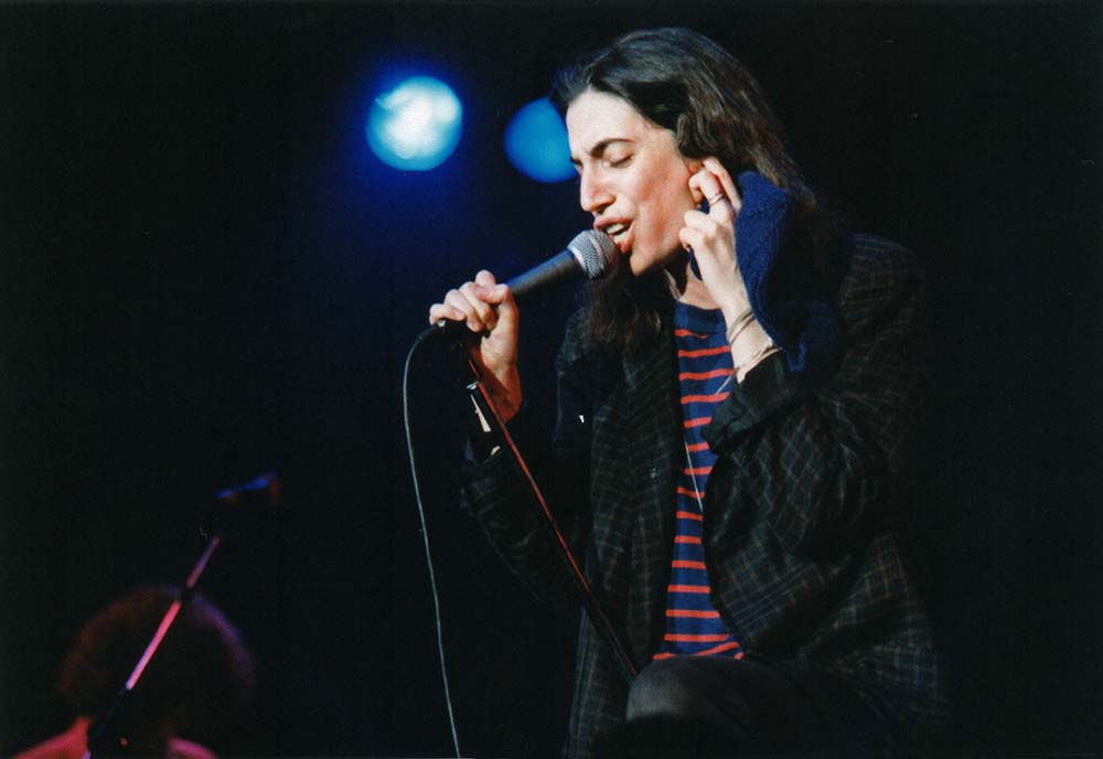 Patti Smith Performs at Wembley Arena in 1979 fine art photography