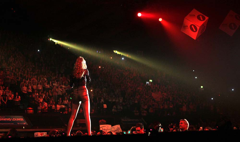 Taylor Swift At Wembley Arena fine art photography