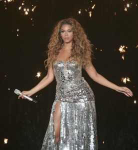 Beyonce in Concert at Wembley Arena