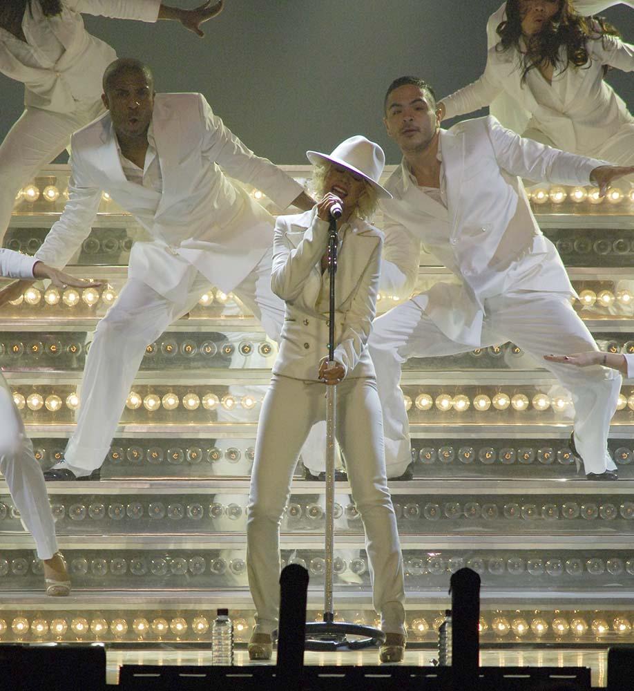 Christina Aguilera At Wembley Arena fine art photography