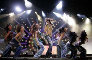 Rihanna At Wembley Arena