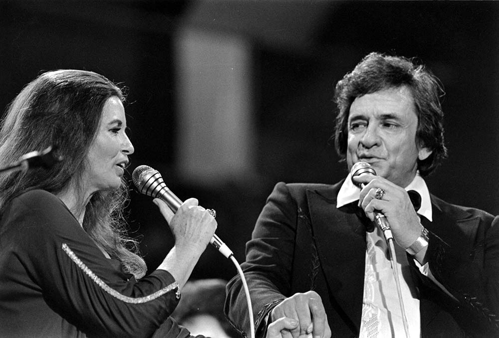 June Carter And Johnny Cash fine art photography
