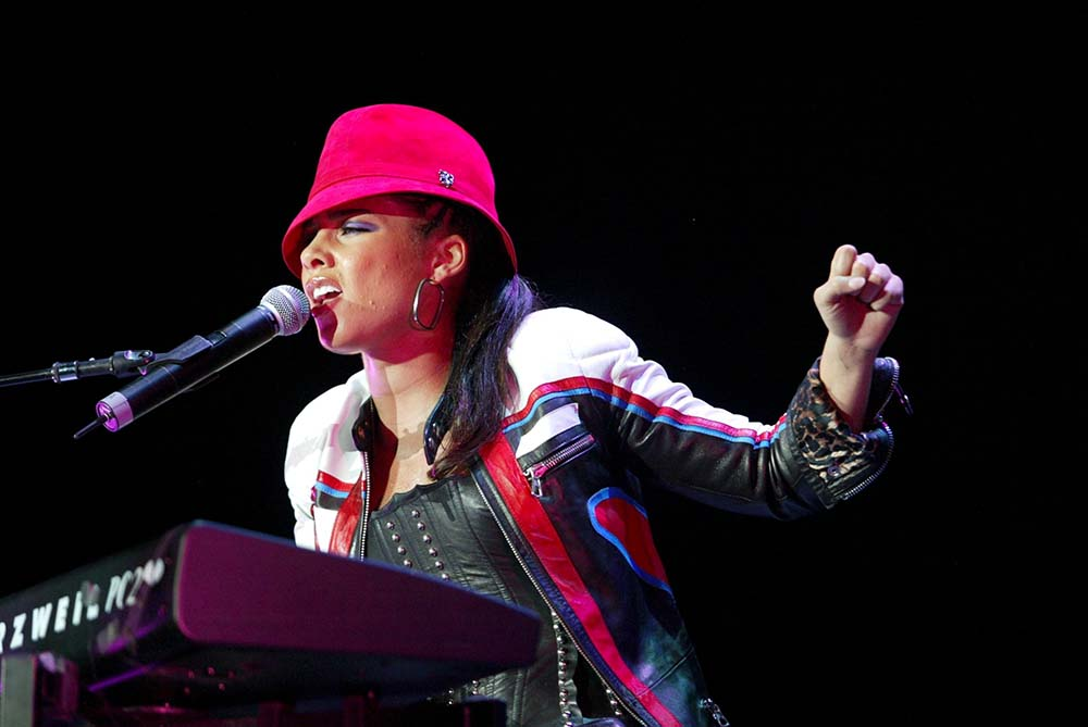 Alicia Keys At Wembley fine art photography