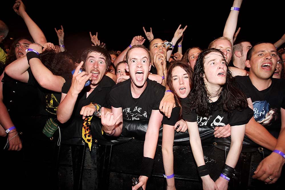 Ozzy Osbourne Fans fine art photography