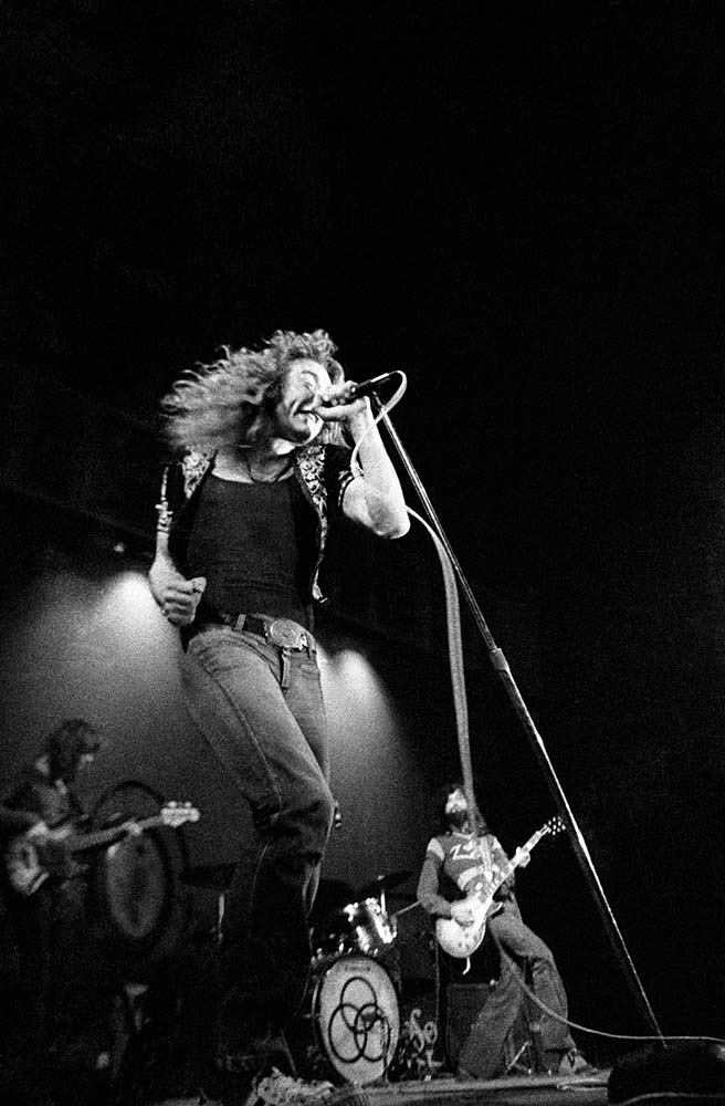 Robert Plant and Led Zeppelin fine art photography