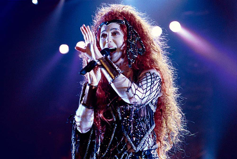 Cher at Wembley Arena fine art photography