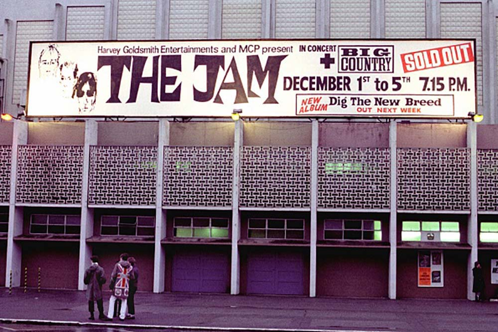 The Jam At Wembley Arena fine art photography