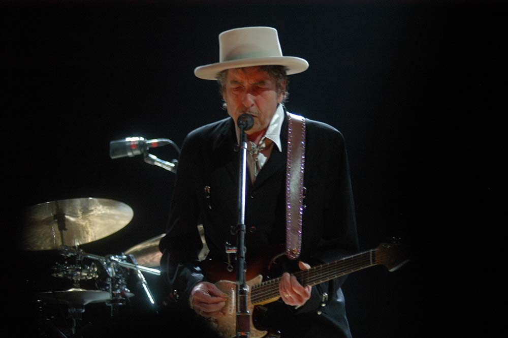 Bob Dylan Performs at Wembley Arena fine art photography