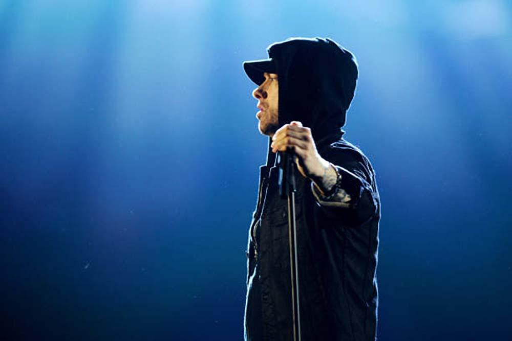 Eminem At MTV EMAs 2017 fine art photography