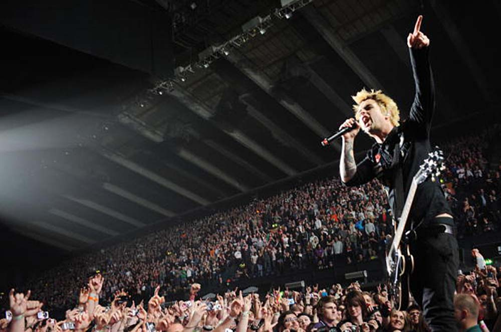 Green Day performs At Wembley Arena fine art photography