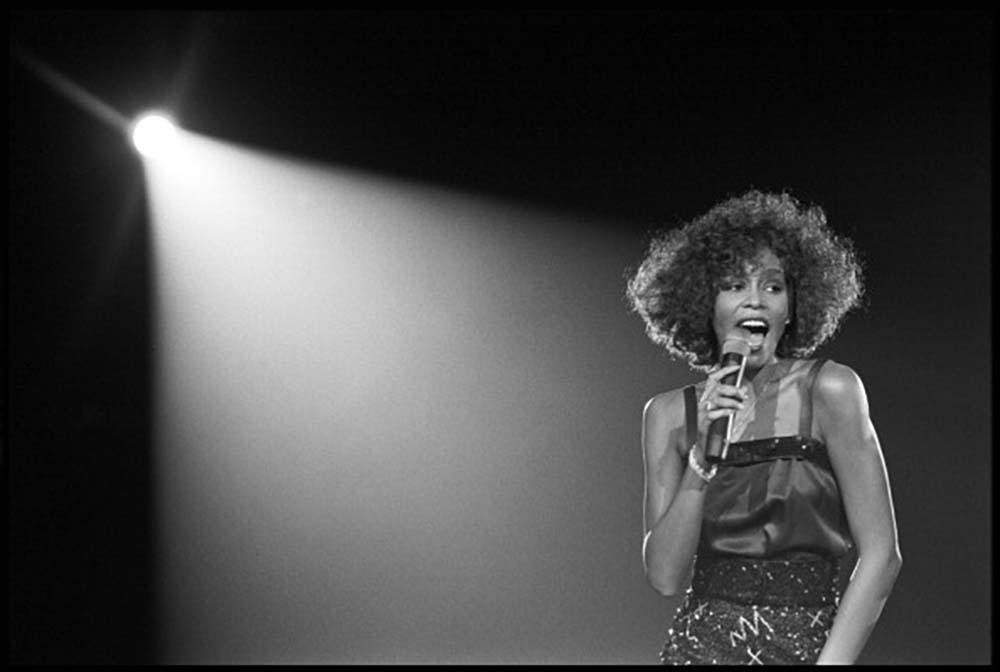 Whitney Houston fine art photography
