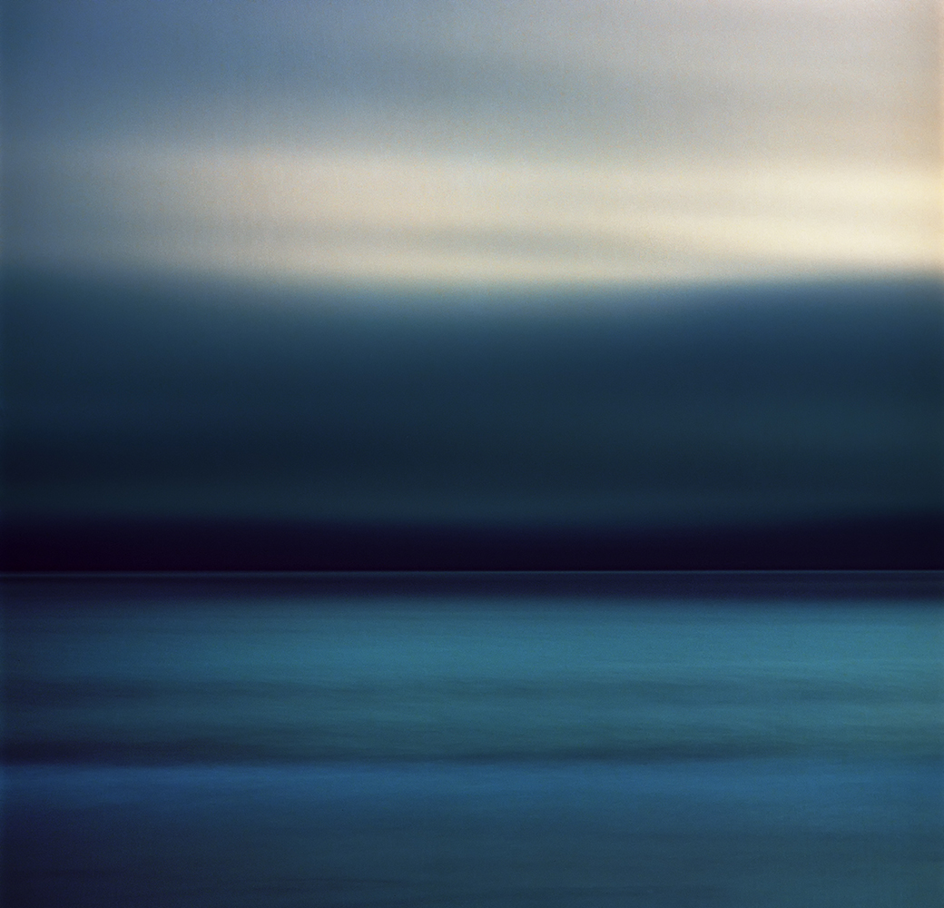 Long exposure of a storm over the Pacific Ocean fine art photography