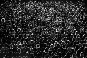 Full Frame Shot Of Crowd At Music Concert