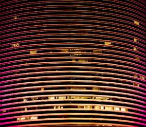 Miami Tower Illuminated