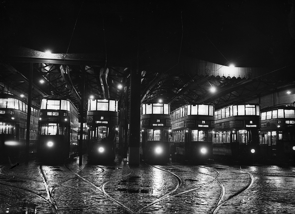 Night Buses fine art photography