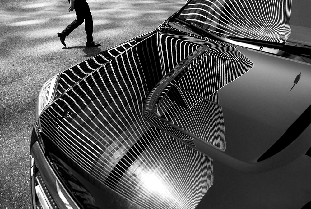 Reflections in New York fine art photography