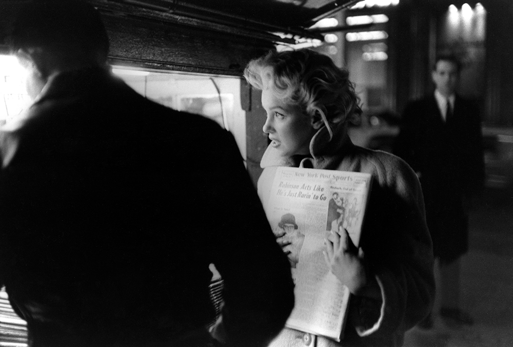 Marilyn Gets The Paper fine art photography