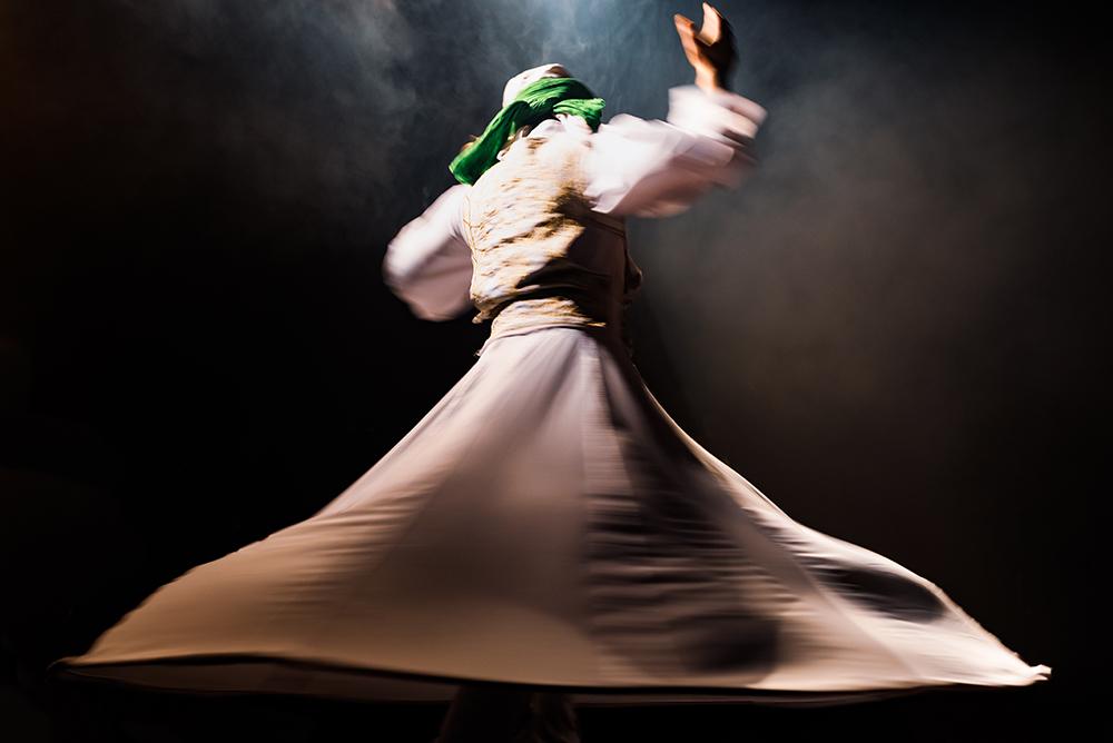 Whriling Dervish Dancer fine art photography