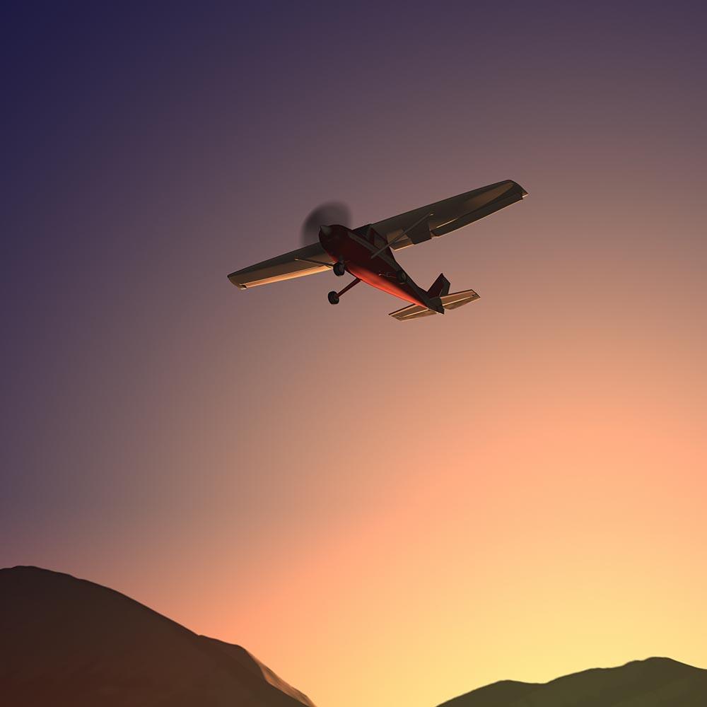 Dawn Flight XL fine art photography