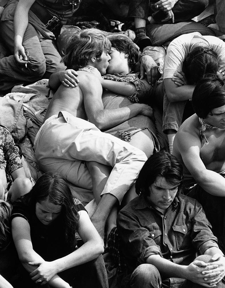 Crowd Kiss fine art photography