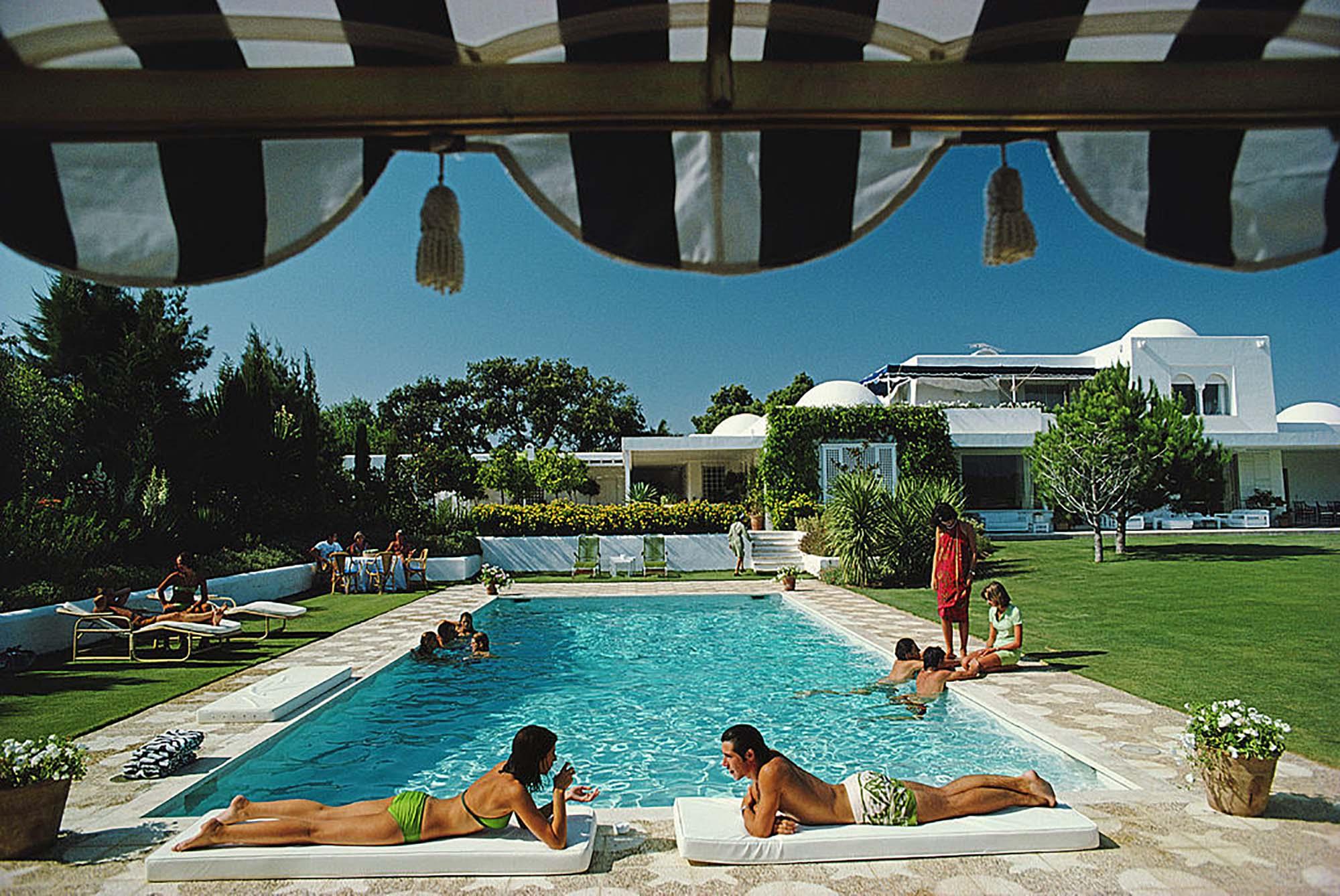 Poolside In Sotogrande fine art photography