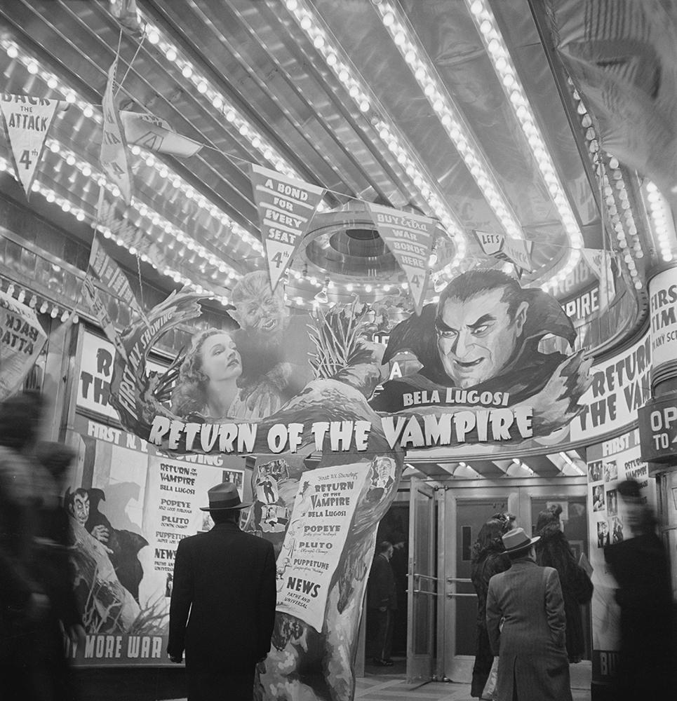 Return of The Vampire fine art photography