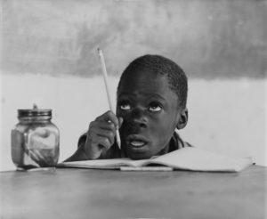 Schoolboy In Luanda