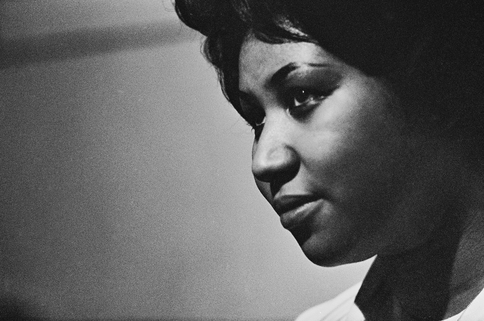 Recording of Aretha Franklin's Album 'This Girl's in Love with You' At Atlantic Studios fine art photography