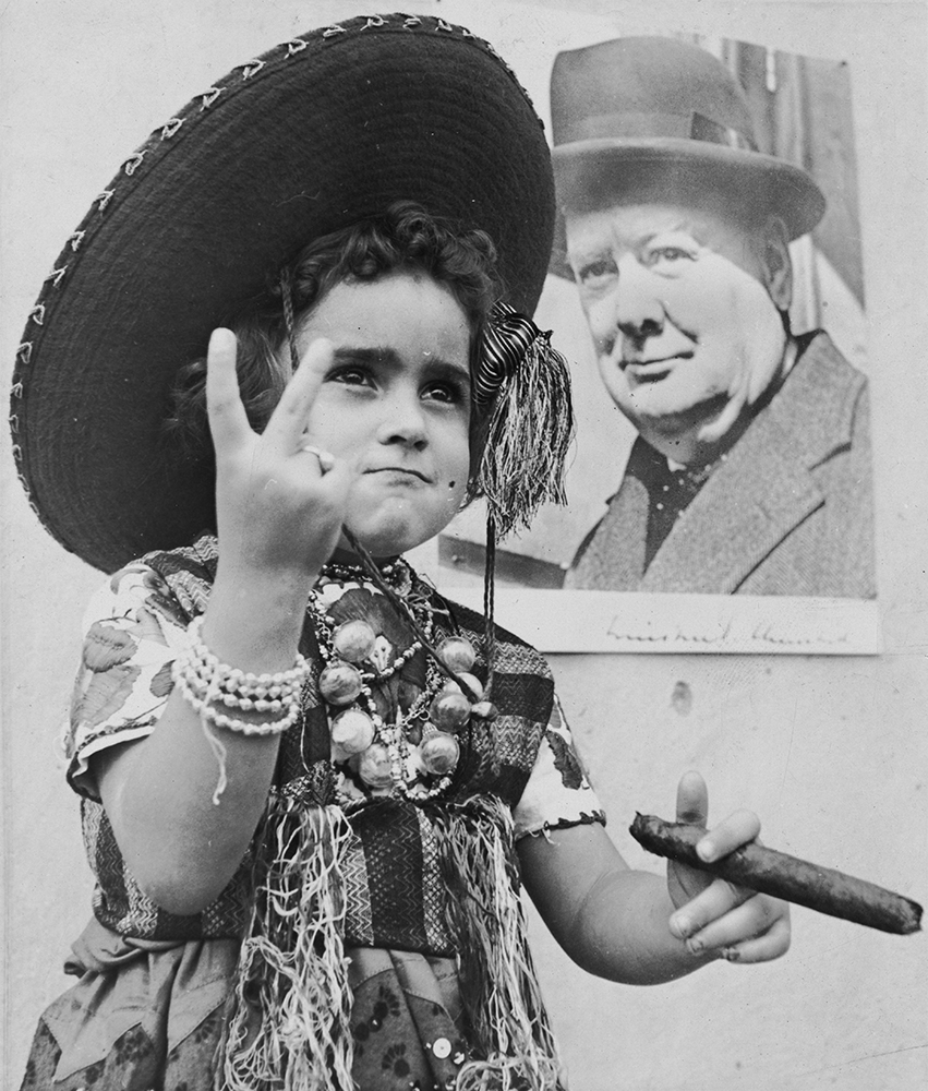 Mexican Poster Child fine art photography