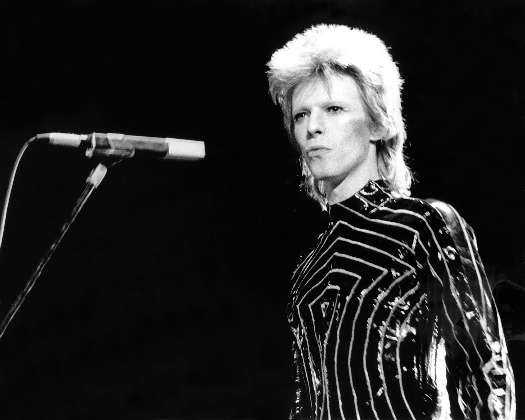 Ziggy Stardust Era Bowie In LA fine art photography