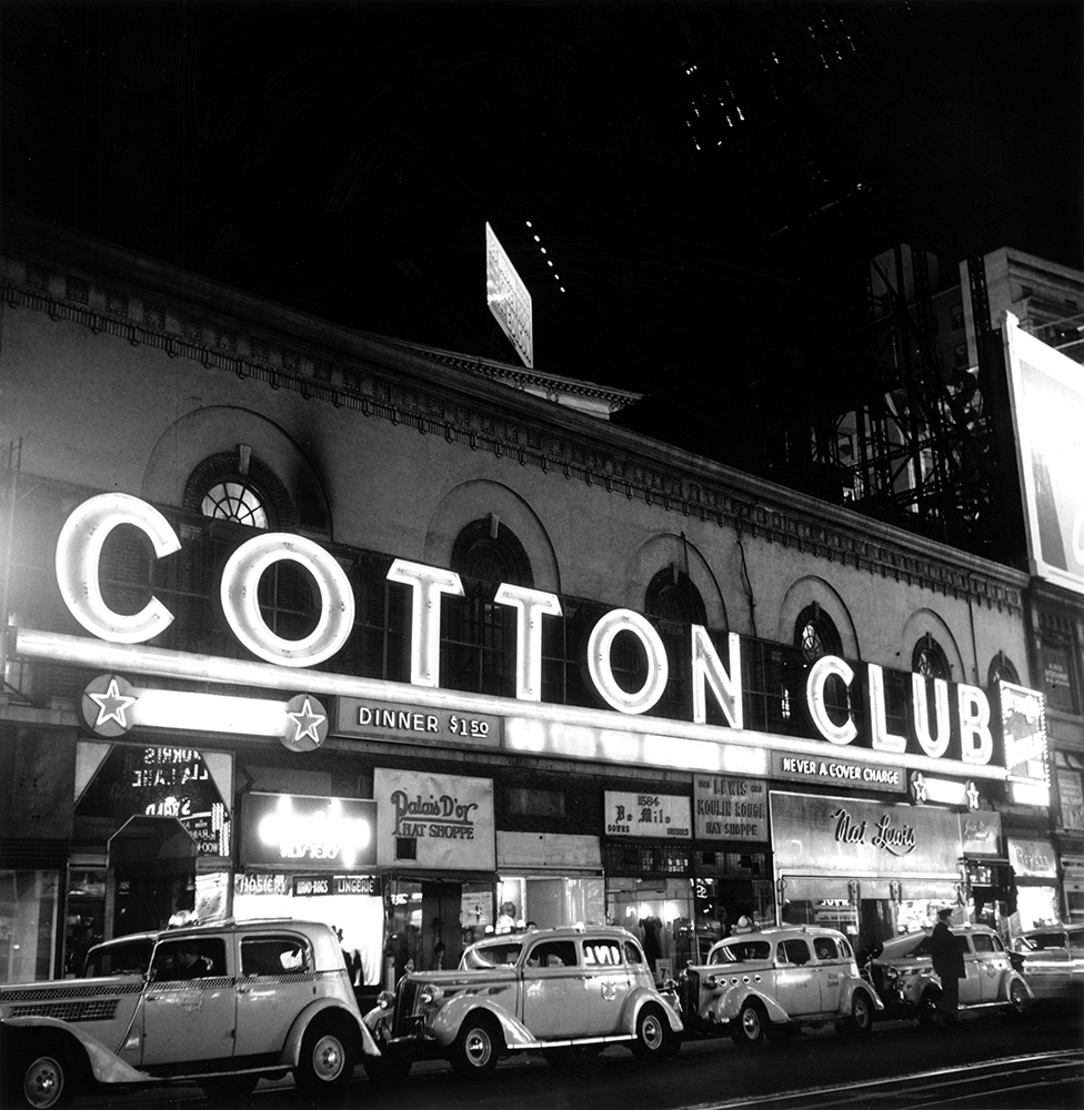 Cotton Club Marquee In NY fine art photography