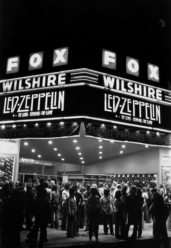 """Led Zeppelin """"Song Remains The Same"""" Premier Marquee fine art photography"""