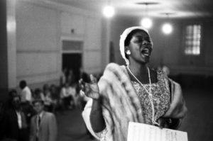 Dinah Washington Sings At A Church Service