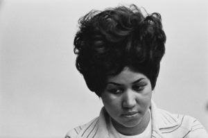 Recording of Aretha Franklin's Album 'This Girl's in Love with You' At Atlantic Studios