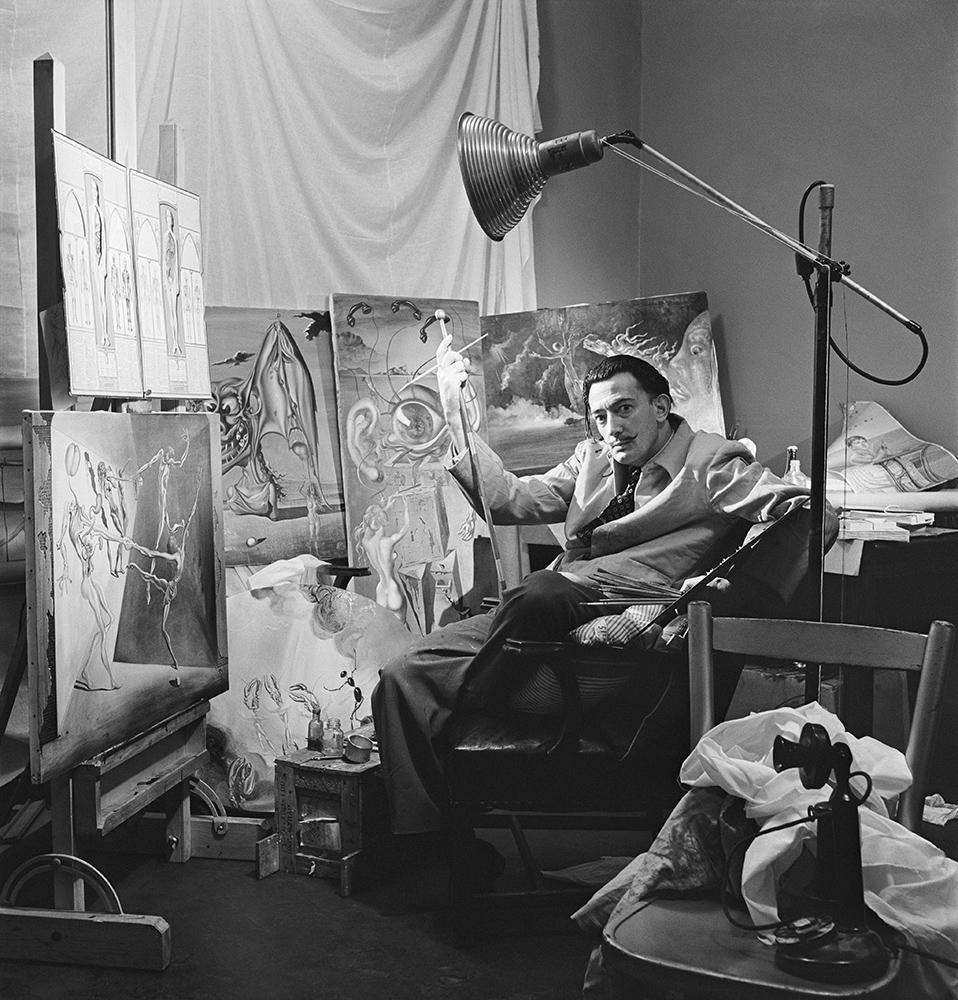 Salvador Dali Portrait fine art photography