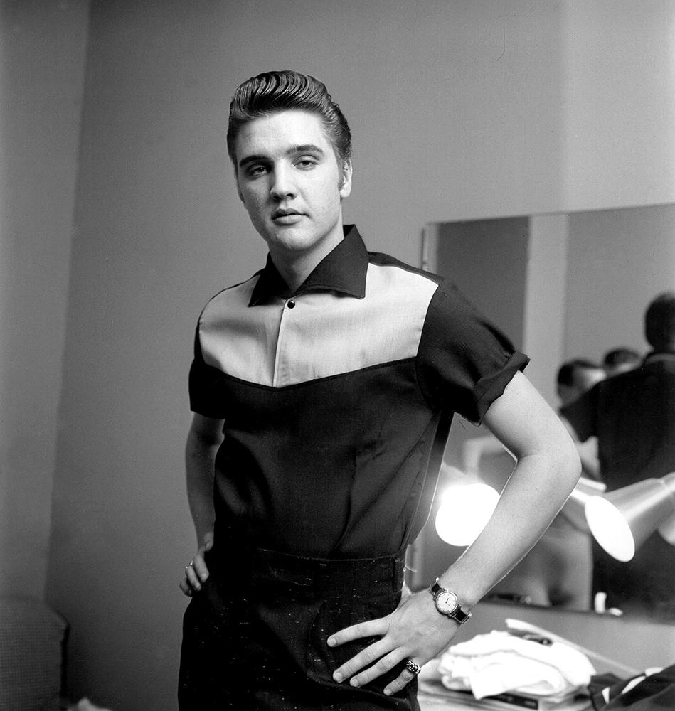 Elvis Presley on Milton Berle fine art photography