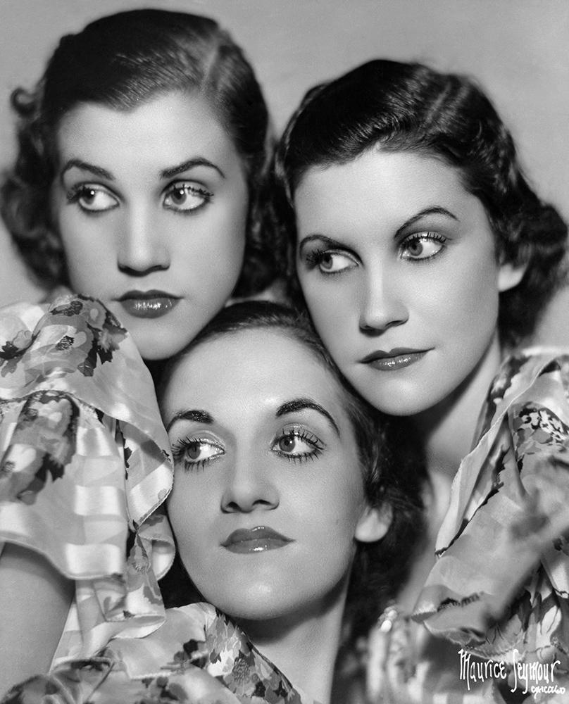Andrews Sisters Portrait Session fine art photography