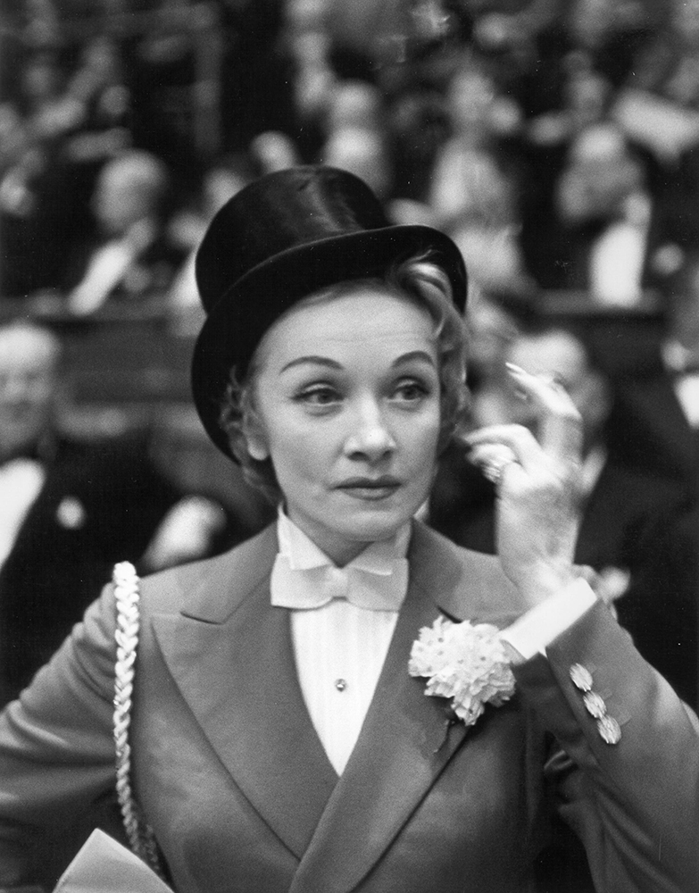 Photo of Marlene Dietrich fine art photography