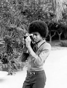 Michael Jackson Home Photo Shoot