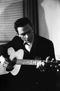 Johnny Cash At The New York Folk Festival